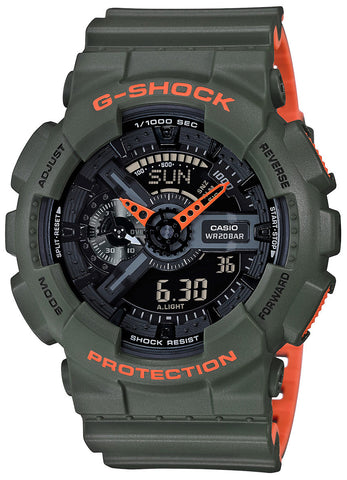 Casio G-Shock GA110LN Layered Colour Watch