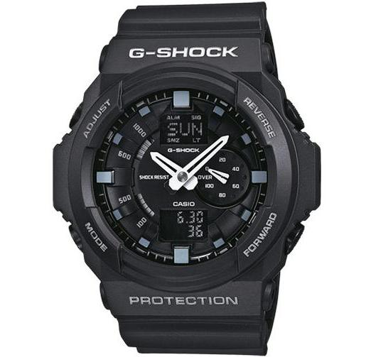 CASIO G-SHOCK ANALOG/ DIGITAL MEN BLACK GA-150-1A