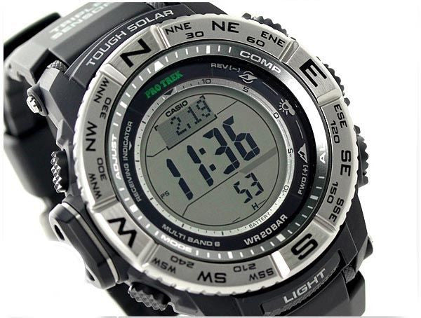 CASIO PROTREK WAVE CEPTOR STANDARD DIGITAL PRW-3500-1