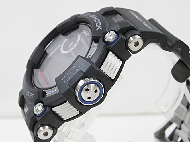 CASIO G-SHOCK FROGMAN PROFFESIONAL DIVER ISO 200MM TRIPLE SENSOR SOLAR CEPTOR GWF-D1000-1DR MEN WATCH