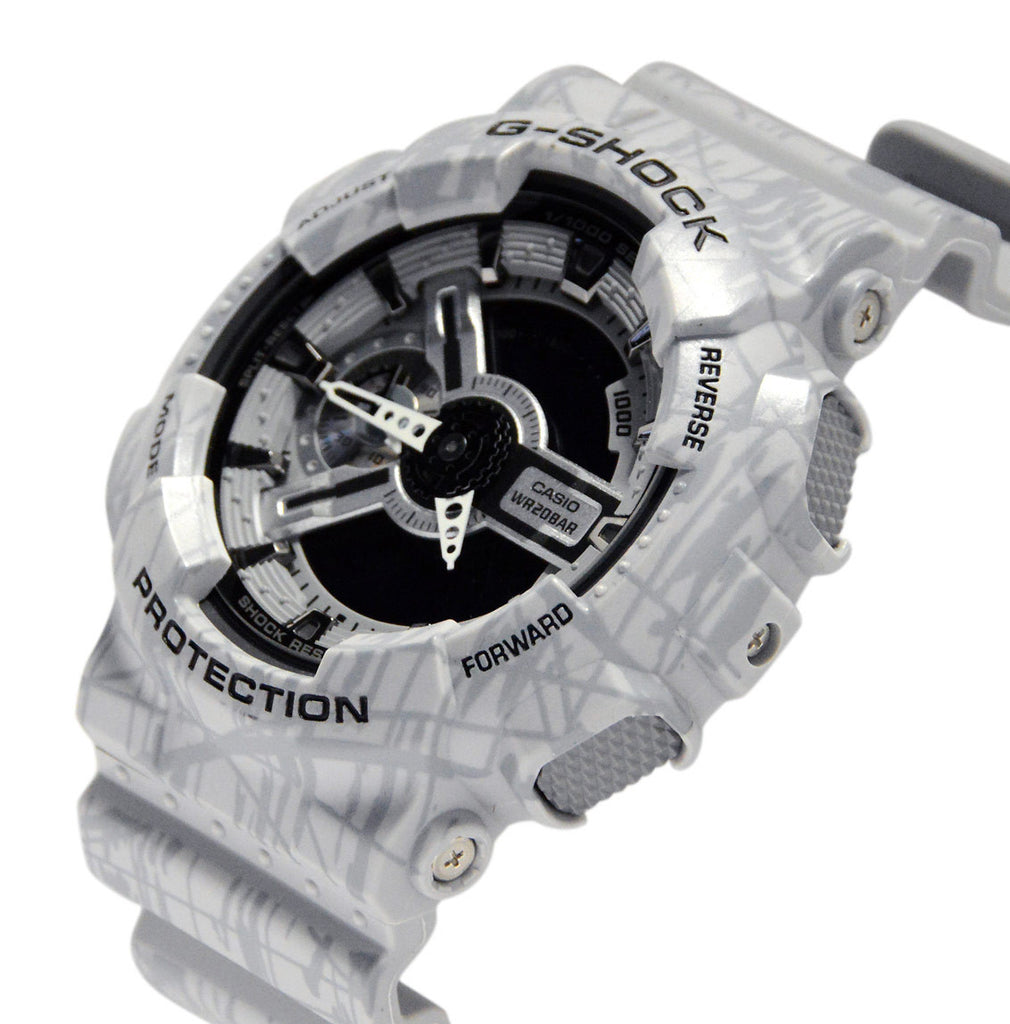CASIO G-SHOCK ANALOG/ DIGITAL MEN GA-110SL-8ADR