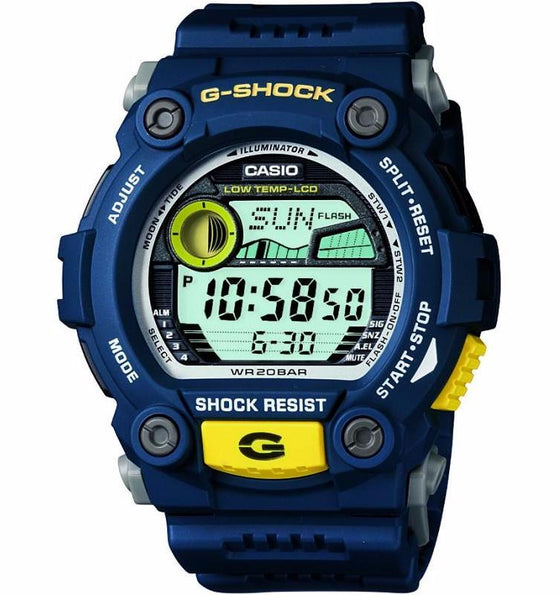TIDE GRAPH MENS WATCH BLUE G-7900A-2