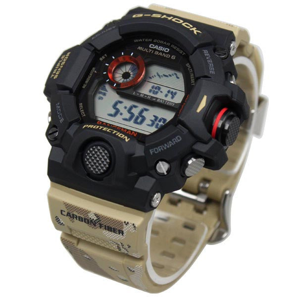 CASIO G-SHOCK DIGITAL RANGEMAN TRIPLE SENSOR GW-9400DCJ-1DR