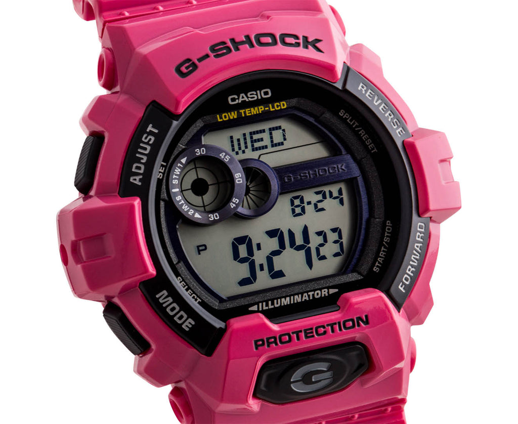 CASIO G-SHOCK GLS LITE DIGITAL PINK WATCH GLS-8900-4DR