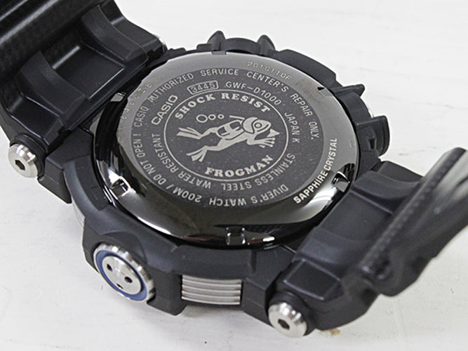 CASIO G-SHOCK  FROGMAN DIVER ISO 200MM SOLAR GWF-D1000-1DR