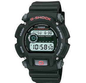 CASIO G-SHOCK DIGITAL MEN BLACK DW-9052-1VDR
