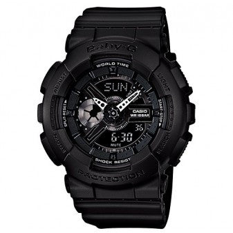CASIO BABY-G ANALOGUE/ DIGITAL LADEIS WATCH BA-110BC-1ADR