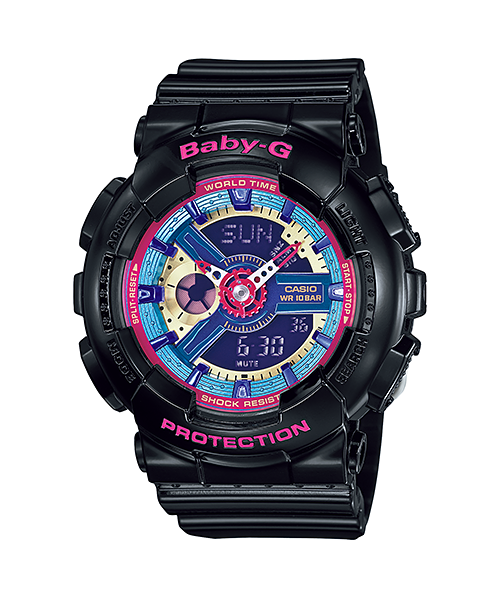 CASIO BABY-G LADIES WATCH BA-112-1ADR
