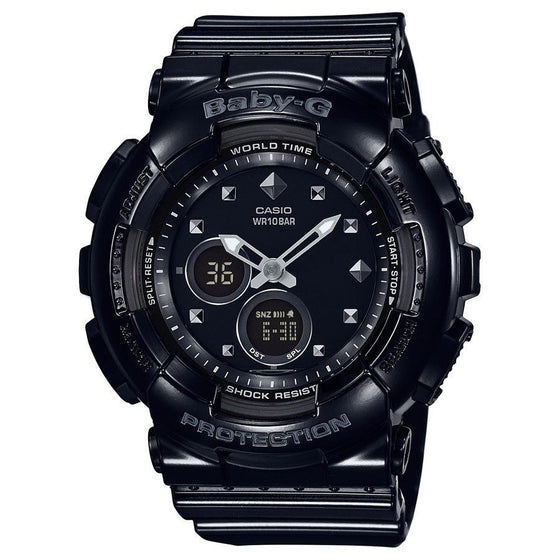 CASIO BABY-G ANALOGUE/ DIGITAL LADEIS WATCH BA-125-1ADR