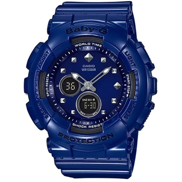 CASIO BABY-G ANALOGUE/ DIGITAL LADEIS WATCH BA-125-2ADR
