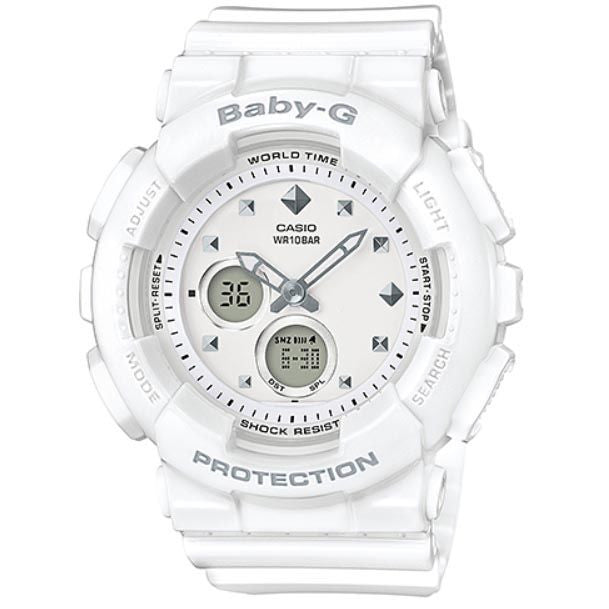 CASIO BABY-G ANALOGUE/ DIGITAL LADEIS WATCH BA-125-7ADR
