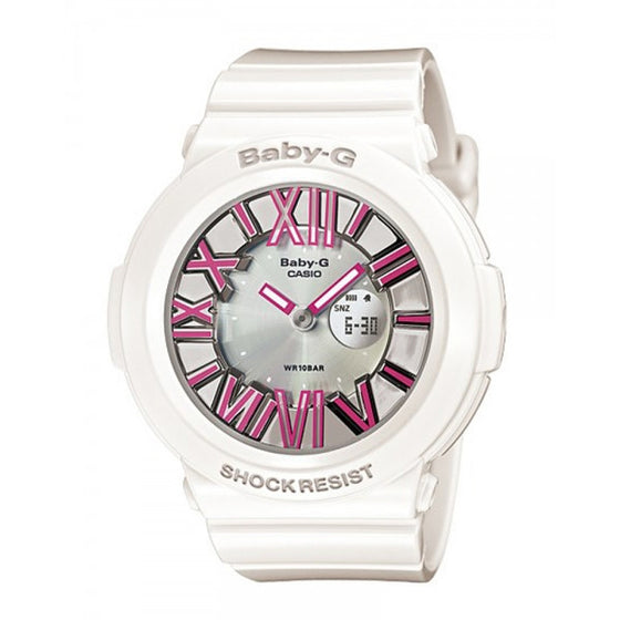 CASIO BABY-G ANALOGUE/ DIGITAL LADEIS WATCH BGA-160-7B2DR