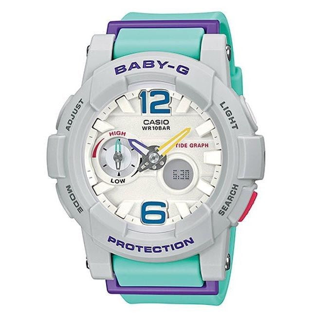 CASIO BABY-G ANALOGUE/ DIGITAL LADEIS WATCH BGA-180-3BDR