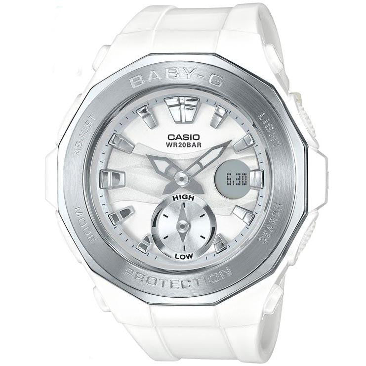 CASIO BABY-G ANALOGUE/ DIGITAL LADEIS WATCH BGA-220-7ADR