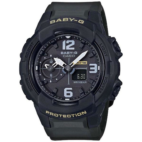 CASIO BABY-G ANALOGUE/ DIGITAL LADEIS WATCH BGA-230-3BDR