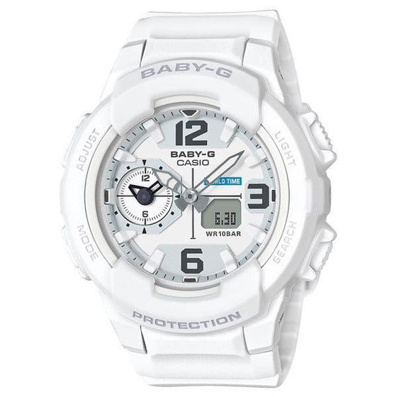 CASIO BABY-G ANALOGUE/ DIGITAL LADEIS WATCH BGA-230-7BDR