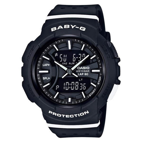 CASIO BABY-G ANALOGUE/ DIGITAL LADEIS WATCH BGA-240-1A2DR