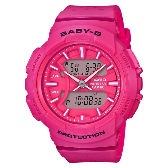 CASIO BABY-G ANALOGUE/ DIGITAL LADEIS WATCH BGA-240-4ADR