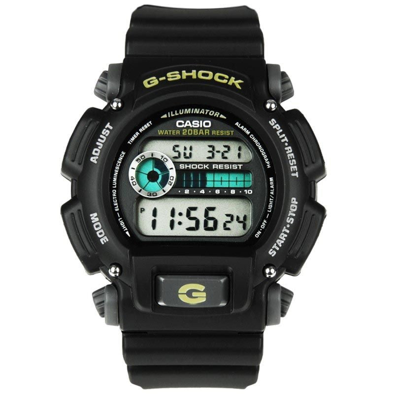 CASIO -SHOCK DIGITAL MEN BLACK WATCH DW-9052-1VCG
