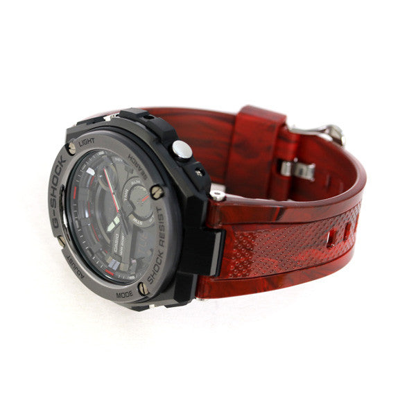 CASIO G-SHOCK G-STEEL MENS RED WATCH GST-210M-4ADR