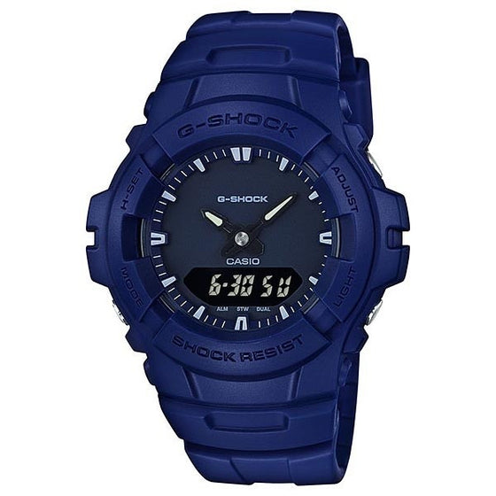 CASIO G-SHOCK ANALOGUE/ DIGITAL MENS WATCH G-100CU-2ADR