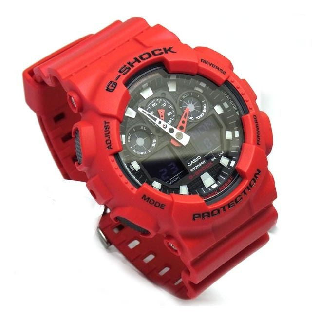 CASIO G-SHOCK MENS WATCH GA-100B-4ADR