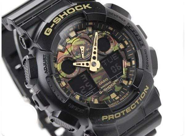 CASIO G-SHOCK MENS WATCH GA-100CF-1A9DR