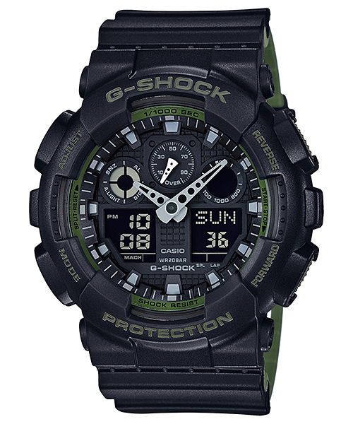 CASIO G-SHOCK MENS WATCH GA-100L-1AD