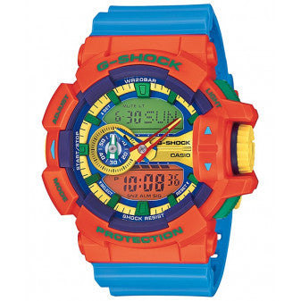 CASIO G-SHOCK ANALOG/ DIGITAL MEN COLOR SERIES GA-400-4ADR