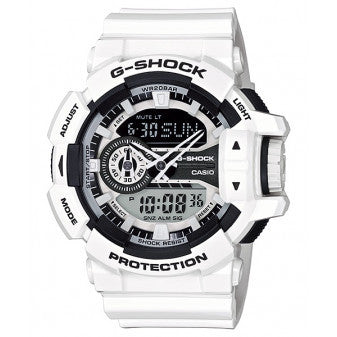 BUY CASIO G-SHOCK MENS HYPER COLOUR SERIES BLACK/WHITE WATCH GA-400-7ADR
