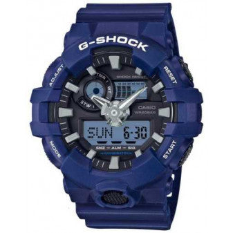 CASIO G-SHOCK MENS WHITE WATCH GA-700-2ADR