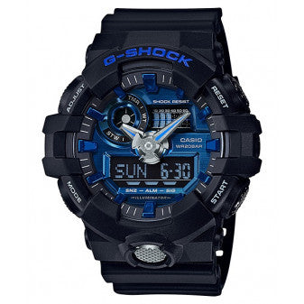 CASIO G-SHOCK MENS BLUE WATCH GA-710-1A2DR