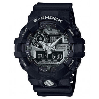 CASIO G-SHOCK BLACK WATCH GA-710-1ADR