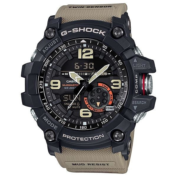 CASIO G-SHOCK MILITARY TWIN SENSOR MUDMASTER GG-1000-1A5
