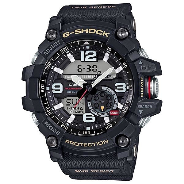 CASIO G-SHOCK MILITARY BLACK TWIN SENSOR MUDMASTER GG-1000-1A