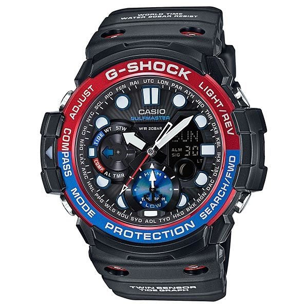 CASIO G-SHOCK GULFMASTER TWIN SENSOR SOLAR WATCH GN-1000-1A