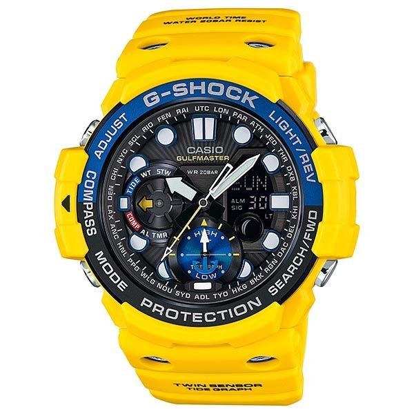 BUY CASIO G-SHOCK GULFMASTER TWIN SENSOR SOLAR WATCH GN-1000-9A