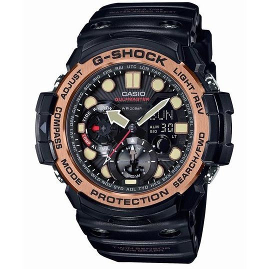 CASIO G-SHOCK GULFMASTER TRIPLE SENSOR SOLAR WATCH GN-1000RG-1A