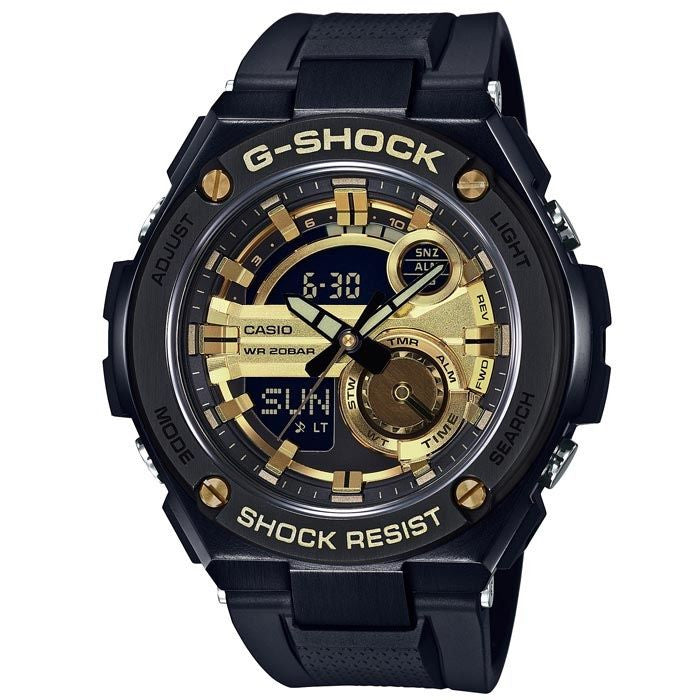 CASIO G-SHOCK G-STEEL MENS WATCH GST-210B-1A9DR