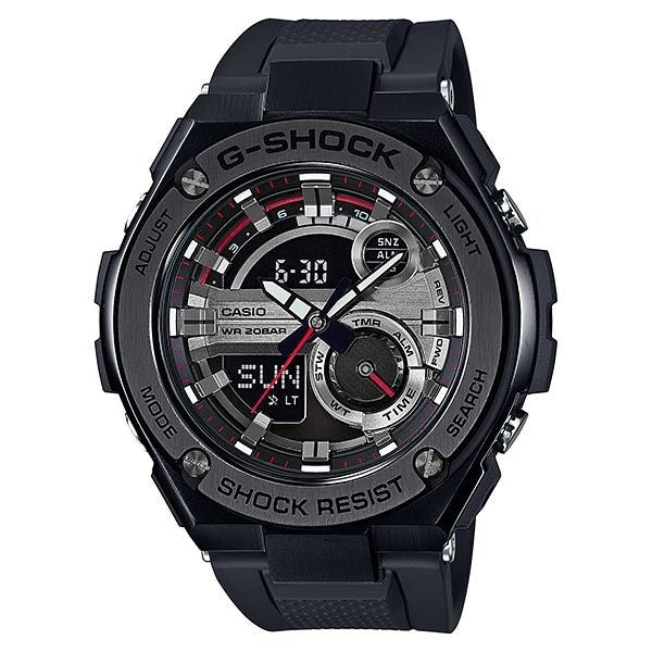 CASIO G-SHOCK G-STEEL MENS WATCH GST-210B-1ADR