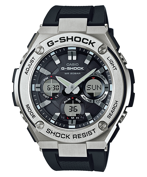 G-STEEL SOLAR MENS WATCH GST-S110-1ADR