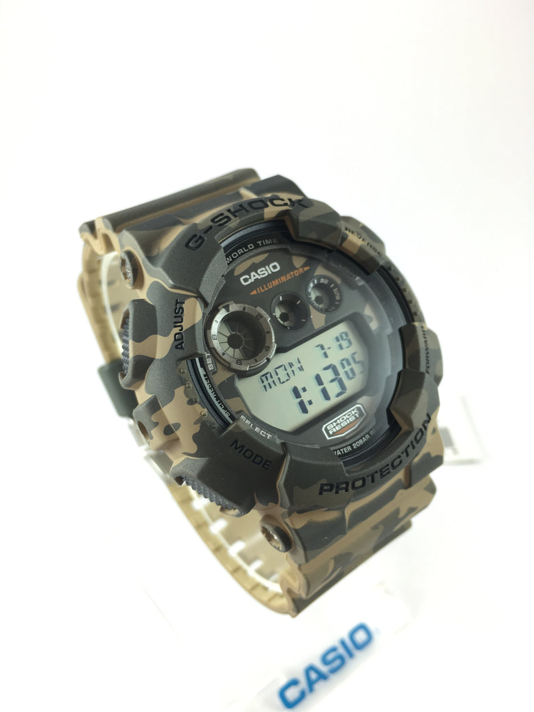 CASIO G-SHOCK DIGITAL MENS WATCH GD-120CM-5DR