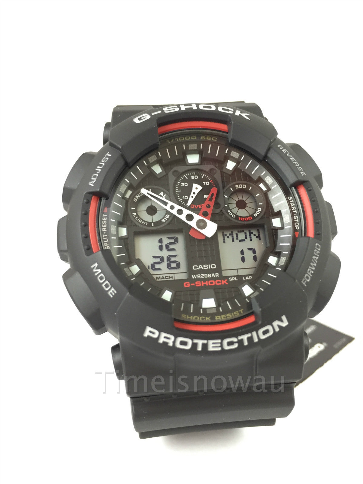 diesel red men watch silicone mr p mens s strap chronograph watches daddy