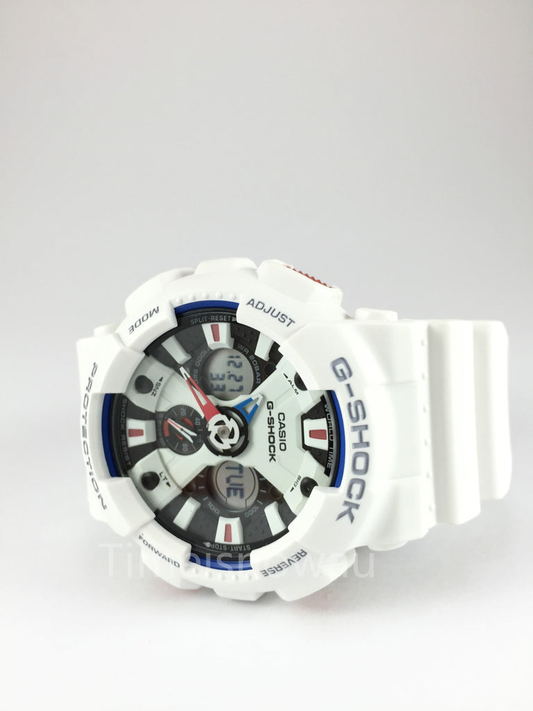 CASIO G-SOCK ANALOGUE/ DIGITAL MENS WATCH GA-120TR-7ADR