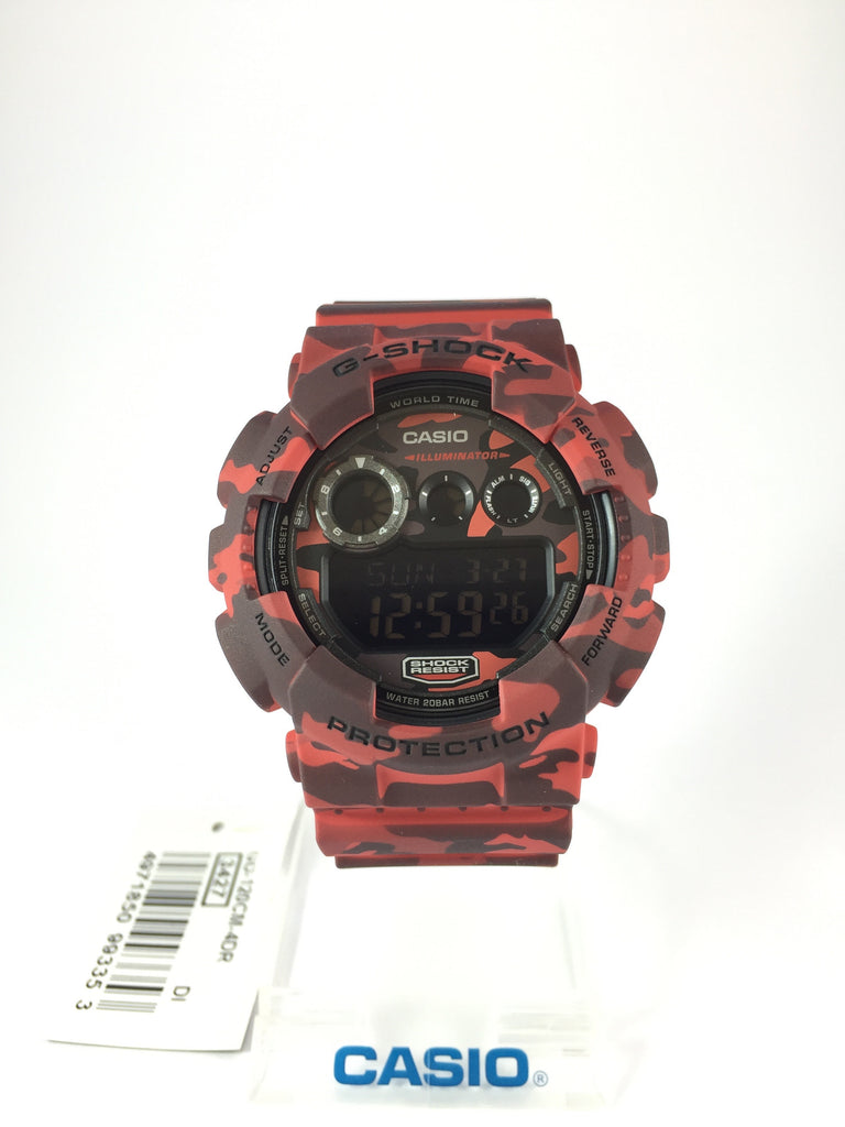 CASIO G-SHOCK DIGITAL MENS WATCH GD-120CM-4D