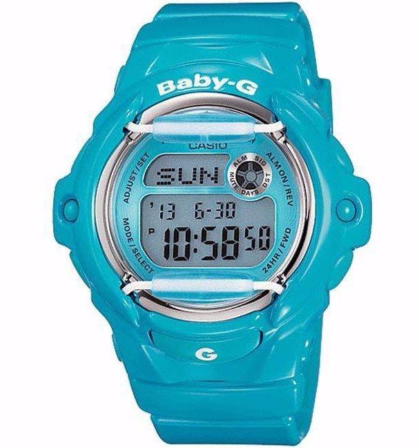 CASIO BABY-G STANDARD DIGITAL LADIES WATCH BLUE BG-169R-2B