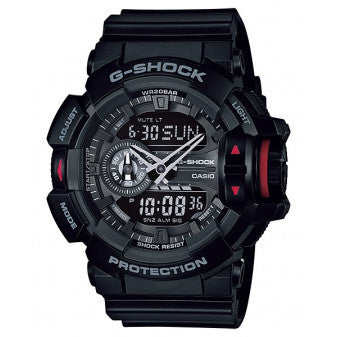 CASIO G-SHOCK MENS WATCH GA-400-1BDR