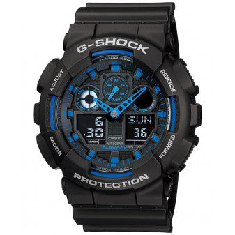 CASIO G-SHOCK MENS WATCH GA-100-1A2DR
