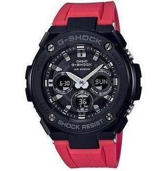 CASIO G-SHOCK G-STEEL MEN RED WATCH GST-S300G-1A4DR