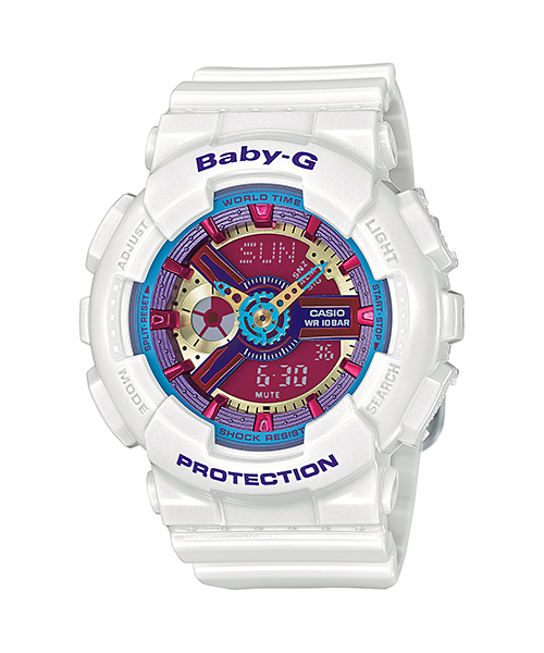 CASIO BABY-G LADIES WATCH BA-112-7ADR
